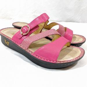 Allegria 'Colette' Fuchsia Pink Sandals